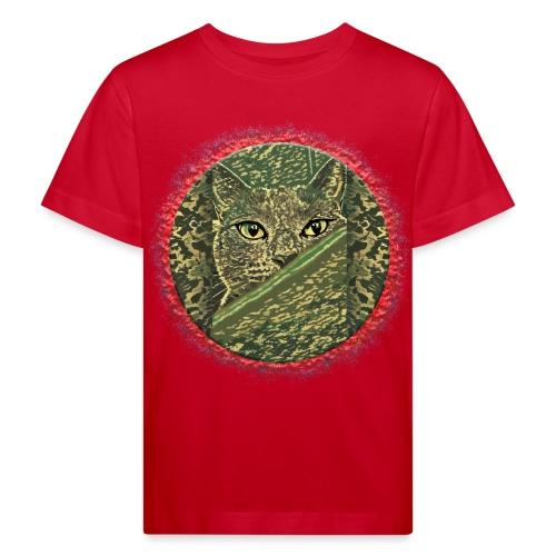 CAT GRACE CAMOUFLAGE - Kinder Bio-T-Shirt