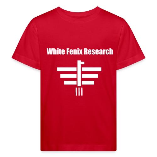 White Fenix Research 2019 - T-shirt bio Enfant