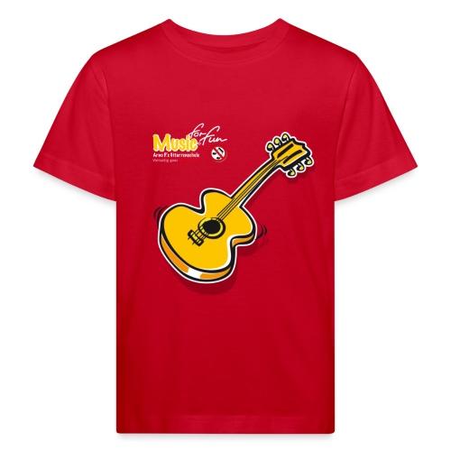 MusicForFun - dunkler Hintergrund - Kinder Bio-T-Shirt