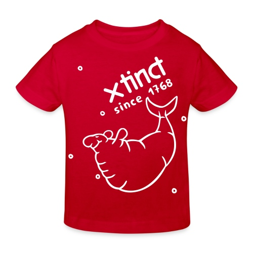 xtinct neu - Kinder Bio-T-Shirt