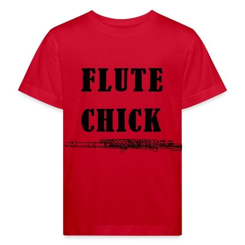 Flute Chick - Økologisk T-skjorte for barn