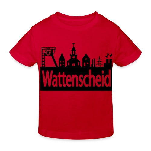 Skyline Wattenscheid - Kinder Bio-T-Shirt