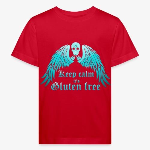 Keep calm it's Gluten free - Kids' Organic T-Shirt