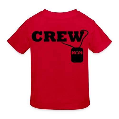 KON - Crew - Kinder Bio-T-Shirt