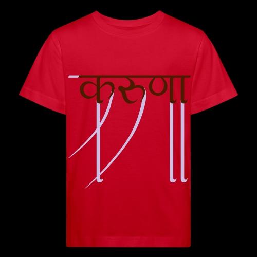 mitgefühl - Kinder Bio-T-Shirt