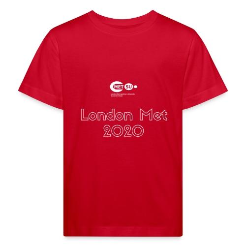 London Met 2020 - Kids' Organic T-Shirt