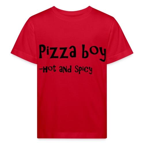 Pizza boy - Økologisk T-skjorte for barn