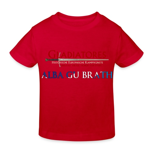 ALBAGUBRATH - Kinder Bio-T-Shirt