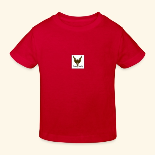 feeniks logo - Lasten luonnonmukainen t-paita