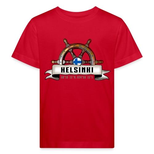 Helsinki Ruori - Merelliset tekstiilit ja lahjat - Lasten luonnonmukainen t-paita