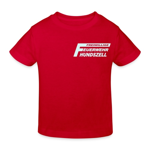 FFHZ rot - Kinder Bio-T-Shirt
