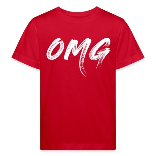 OMG, valkoinen - Lasten luonnonmukainen t-paita
