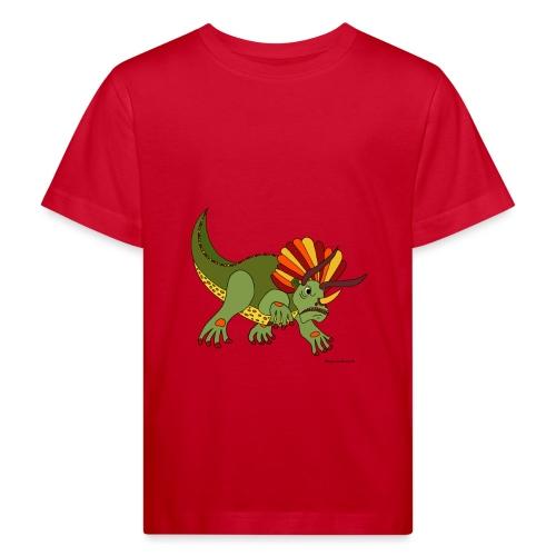 Rhino das wütende Urtier - Kinder Bio-T-Shirt