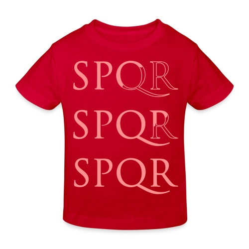 spqr - Camiseta ecológica niño