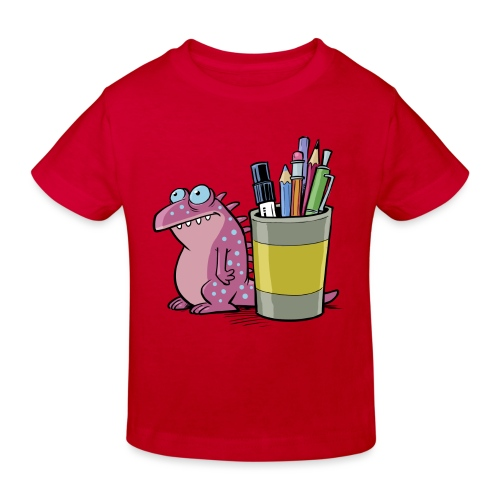 Teenager Premium Langarmshirt Drache - Kinder Bio-T-Shirt