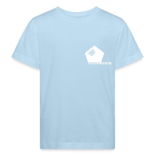 logowhite - Kinder Bio-T-Shirt