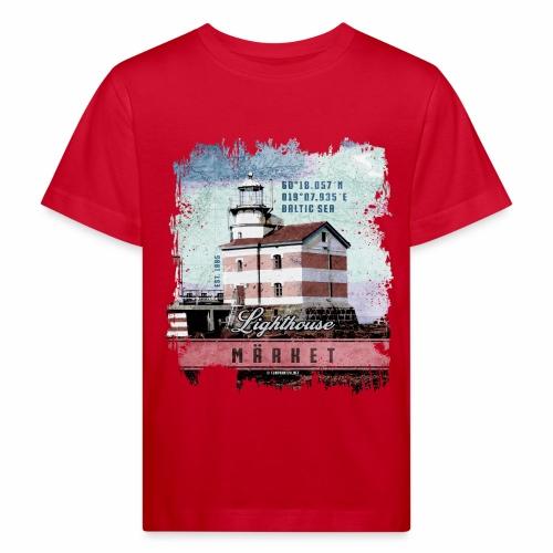 Märket majakkatuotteet, Finland Lighthouse, väri - Lasten luonnonmukainen t-paita