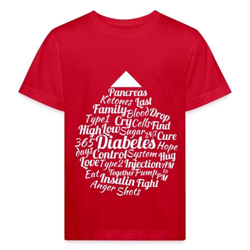 CURE DIABETES - Kids' Organic T-Shirt