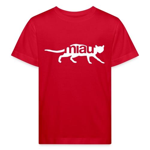 Miau - Kinder Bio-T-Shirt