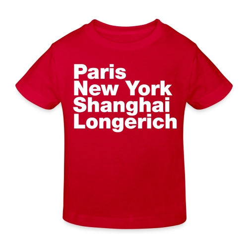 Fashion-Metropole Köln Longerich - Kinder Bio-T-Shirt