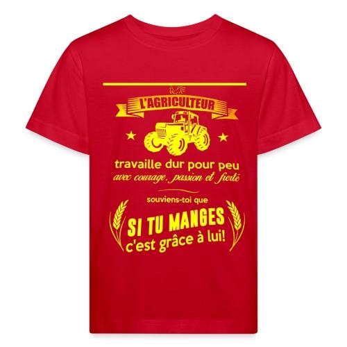 Agriculteur - T-shirt bio Enfant