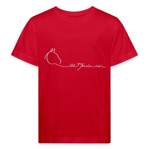 MPS Logoschriftzug gr offizieller Logoschriftzug - Kinder Bio-T-Shirt
