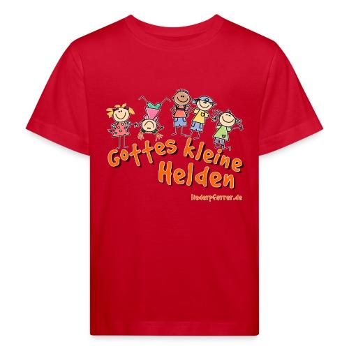 Gottes kleine Helden - Kinder Bio-T-Shirt