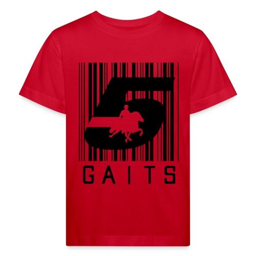 5gaitsBarcode 1 - Kids' Organic T-Shirt