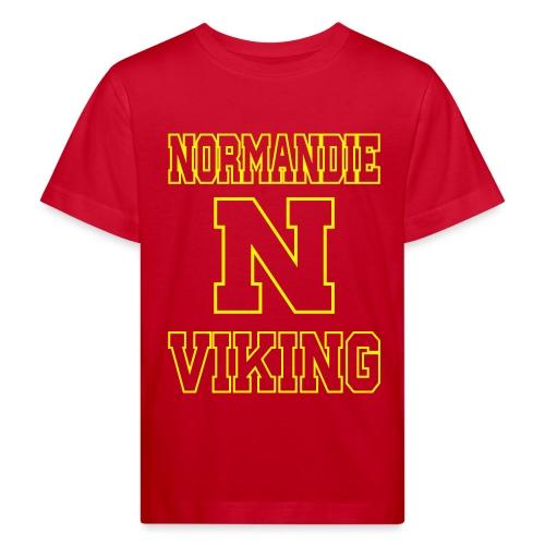 Normandie Viking Def jaune - T-shirt bio Enfant