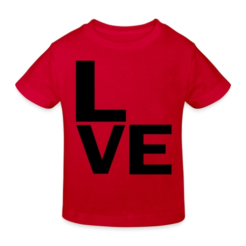 Love - Kinder Bio-T-Shirt