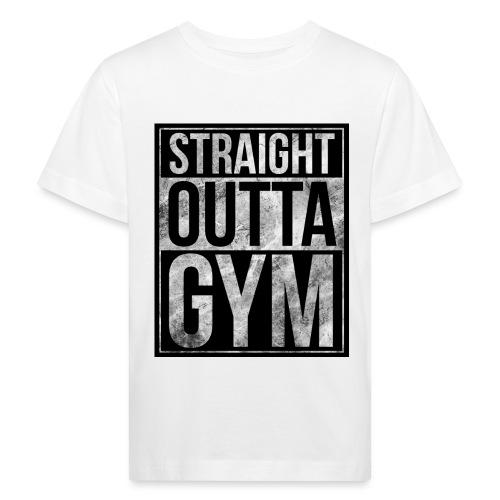 Fitness design - Straight Outta Gym - Kids' Organic T-Shirt