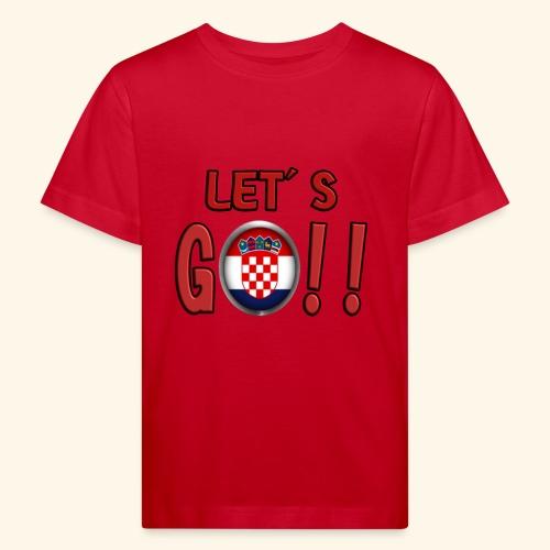 Go Croatia - Maglietta ecologica per bambini
