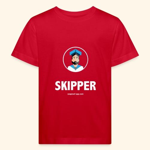 SeaProof Captain - Kinder Bio-T-Shirt