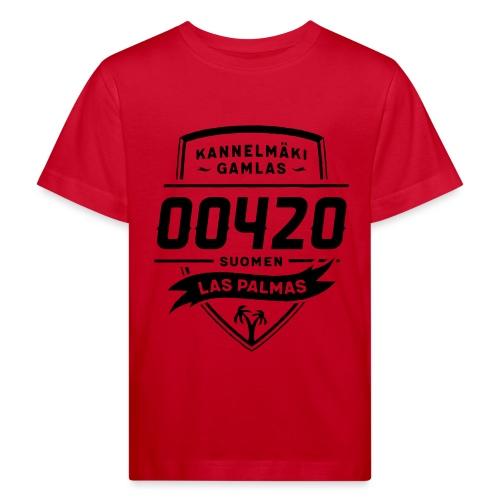 Kannelmäki - Las Palmas - Lasten luonnonmukainen t-paita