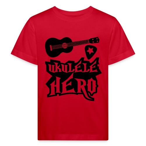 Ukelele Hero - Kids' Organic T-Shirt