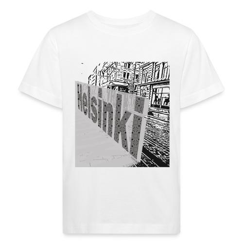 helsinki tram typo - Kids' Organic T-Shirt