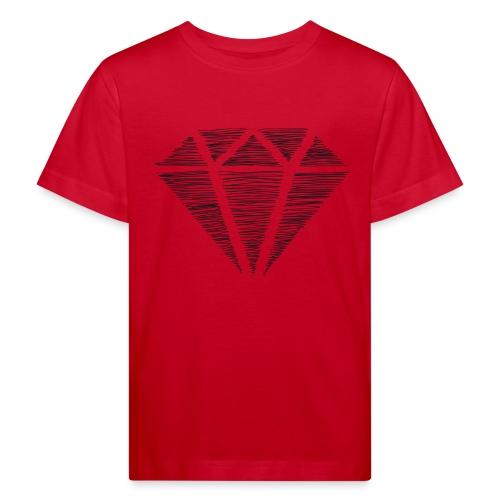 Diamante - Camiseta ecológica niño