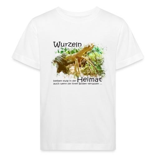 Wurzeln bleiben - Kinder Bio-T-Shirt