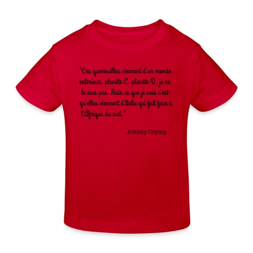 LES QUENOUILLES - T-shirt bio Enfant