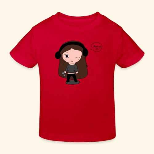 tee-shirt dessin Fan art - T-shirt bio Enfant