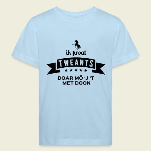 Ik proat Tweants...(donkere tekst) - Kinderen Bio-T-shirt