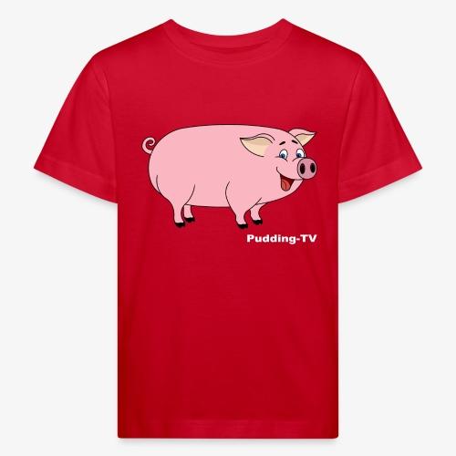 Gris - Økologisk T-skjorte for barn