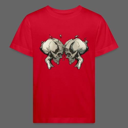 MHF_Logo_Loose-Skulls - Kids' Organic T-Shirt