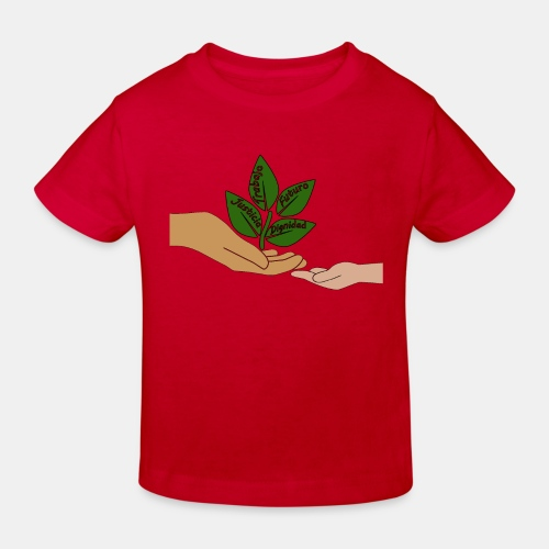 Manos Arbol - Camiseta ecológica niño
