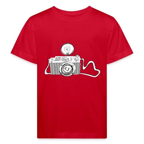 S33 camera-smile - Kinder Bio-T-Shirt