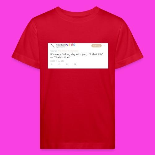 Ieuan Tweet - Kids' Organic T-Shirt