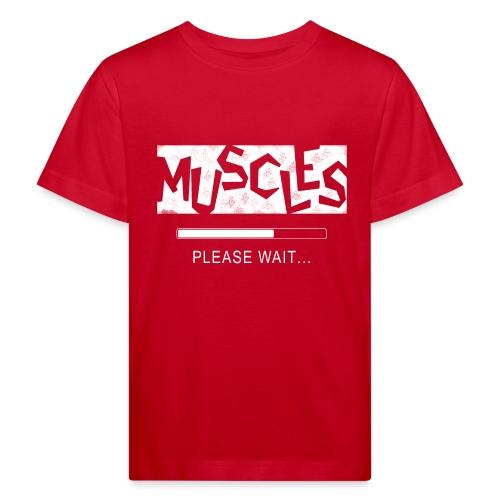 Muscles - Lasten luonnonmukainen t-paita