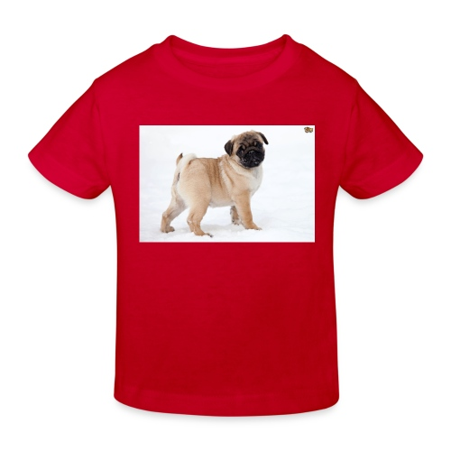 walker family pug merch - Kids' Organic T-Shirt