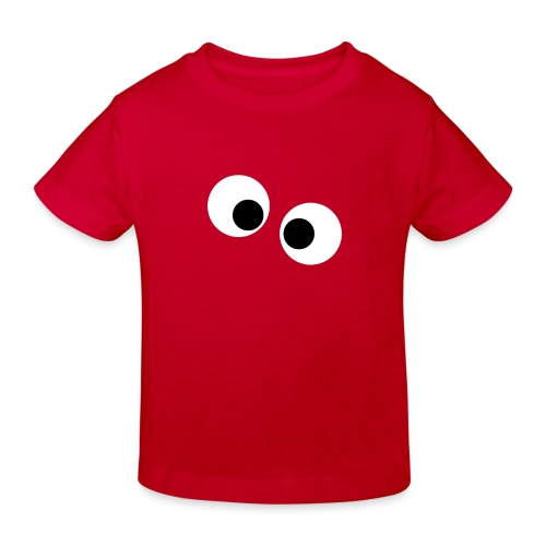 silly eyes - Kinderen Bio-T-shirt