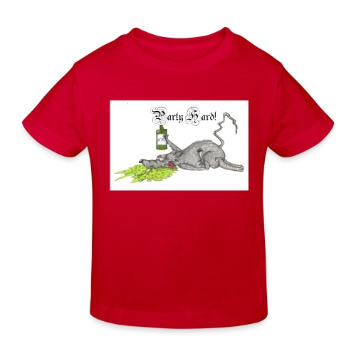 PartyHard - Kinder Bio-T-Shirt